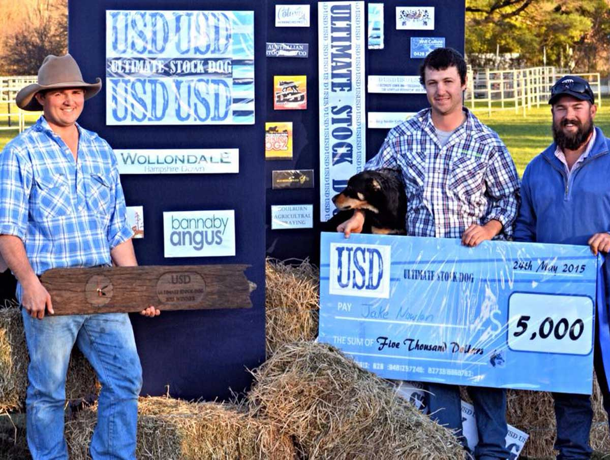 Ultimate stock dog 2015 winners
